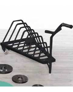 Plate Loaded Outdoor Series Weight Disk Trolley