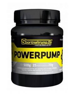 Powerpump, 10 Dosen á 500 g