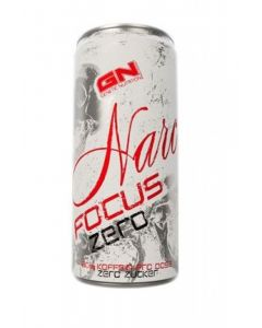 Narc Focus Zero, 24 Dosen á 250 ml