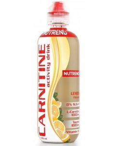 Carnitin Activity Drink, Geschmack Lemon, 8 Flaschen á 500 ml